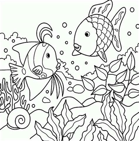 under the sea coloring pages 13 coloringpagehub