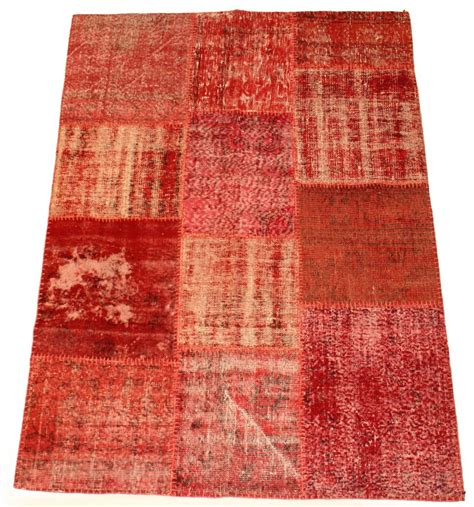 Patchwork Carpet - patchwork vintage carpet 200 x 140 cm