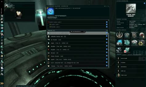 eve online invention tutorial how to materials eve online intro to production pt3 copies invention