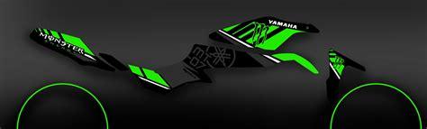 Aufkleber Yamaha Mt 07 by Kit Decorazione 100 Personalizzato Mostro Verde