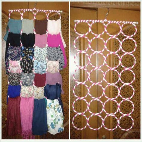 Ring Jilbab Origami jual gantungan hanger jilbab ring bulat jual hanger