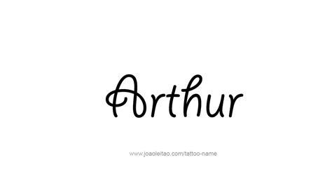 tattoo name komal arthur name tattoo designs