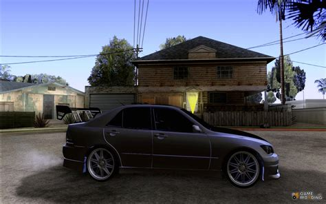 tuned lexus is300 light lexus is300 tuned for gta san andreas