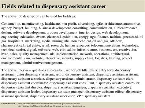top  dispensary assistant interview questions  answers