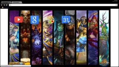 theme chrome hearthstone chrome themes by dacoda burt themebeta