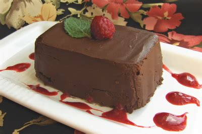 15 Ingredients And Directions Of Chocolate Pate With Cranberry Coulis Receipt by Decadent Chocolate P 226 T 233 Heller