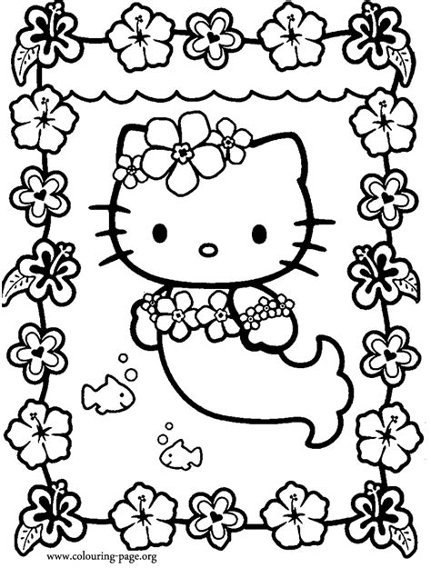 coloring pages hello mermaid free printable hello coloring pages coloring home