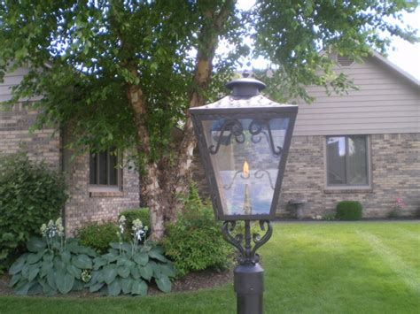 Outdoor Gas Lights by Outdoor Gas Light Traditional Exterior Indianapolis