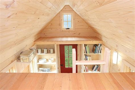 small house with loft 117 sf lusby tiny house