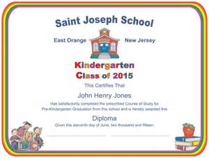 Preschool Graduation Certificate Template Free by Graduation Certificate Template Kindergarten Ebook Database