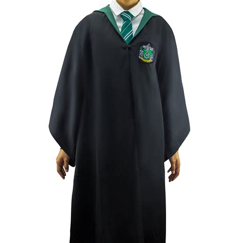 harry potter robes official adults slytherin robe cinereplicas cinereplicas usa