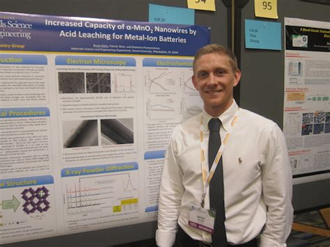 phd student advisor bryan byles wins poster award at drexel s research day