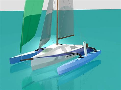trimaran hull 17 best images about sailboats trimarans on pinterest