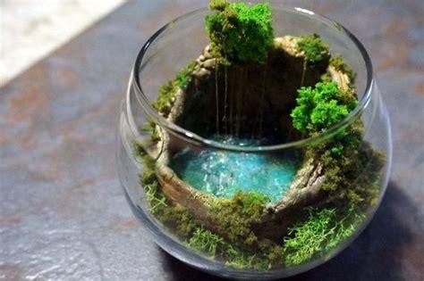hidden cave pool cenote terrarium diorama terrarium