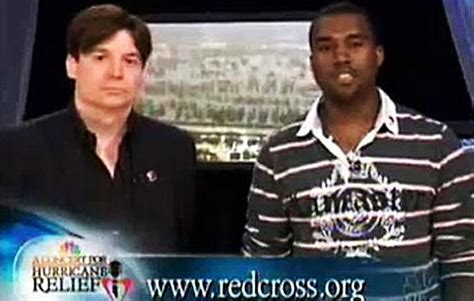mike myers kanye mike myers looks back to the now infamous kanye west s