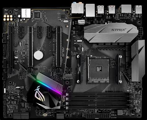 Asus Rog Strix B350 F Gaming Am4 Aura Sync For Amd Ryzen Am4 asus intros the rog strix b350 f gaming motherboard techpowerup