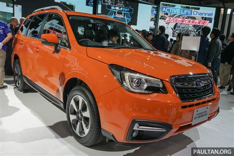tan subaru subaru forester ckd to begin production april 2016