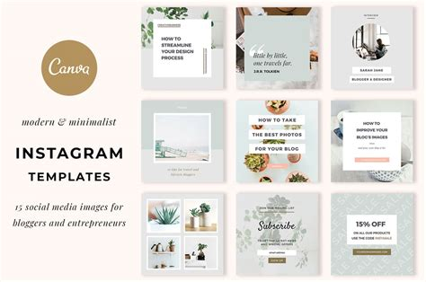 Instagram Templates For Canva Elan Creative Co Instagram Story Template Canva