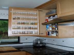bloombety cabinet pull out spice rack design ideas