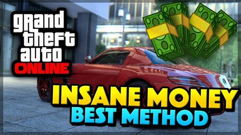Gta 5 Online Best Money Making Method - gta 5 online insane money best method gta 5 mods youtube