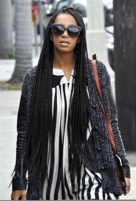solange knowles braid hairstyles glamspiration solange knowles box braids my latest