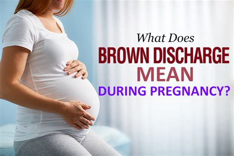 1st Period After C Section by Is It Normal To Brown Discharge During Pregnancy