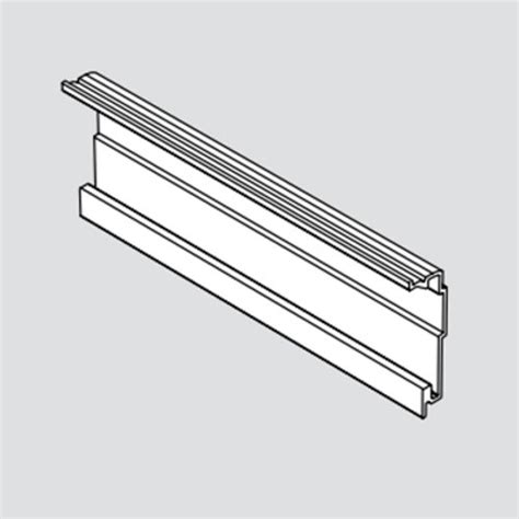 Horizontal Drawer Slides by Blum Servo Drive Horizontal Profile 1143mm Z10t1143b
