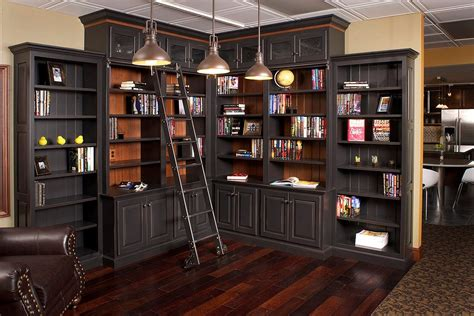 home library furniture design
