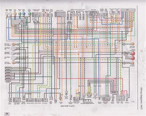 2000 suzuki gsxr 750 wiring diagram 2006 suzuki gsx r 750