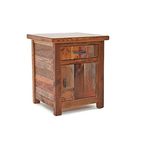 back to the bedroom back to the barn 1 drawer 1 door nightstand green gables