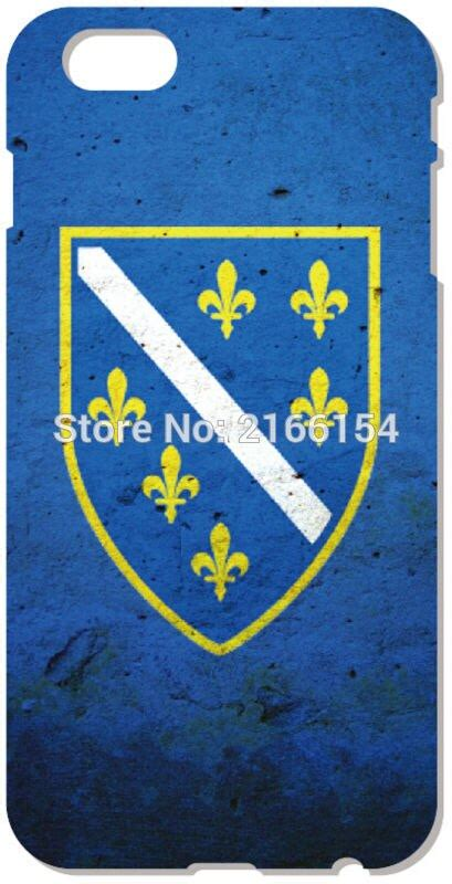 2016 bosnia flag cell phone cover for iphone 5 5s se 5c 6 6s touch 5 6 for samsung galaxy j1 j3