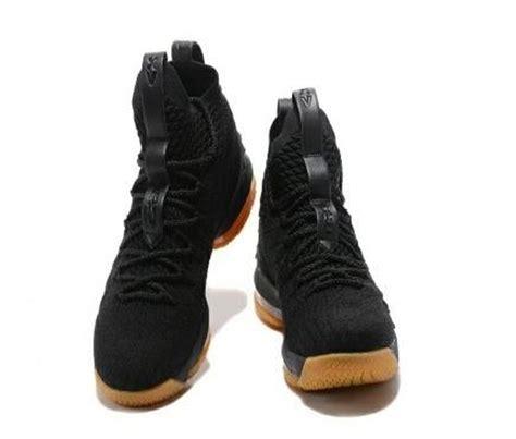 Sepatu Nike Lebron 15 jual sepatu basket nike lebron 15 black gum di lapak darul