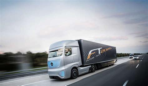 future mercedes truck top 5 des camions du futur