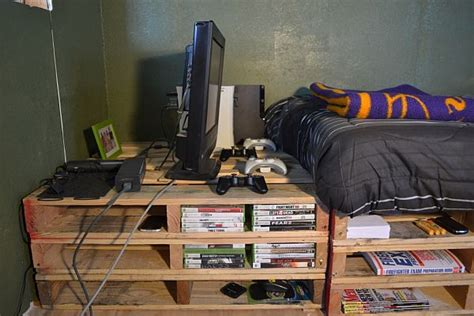 pallet bedroom ideas pallet furniture recycling pallets into unique furniture
