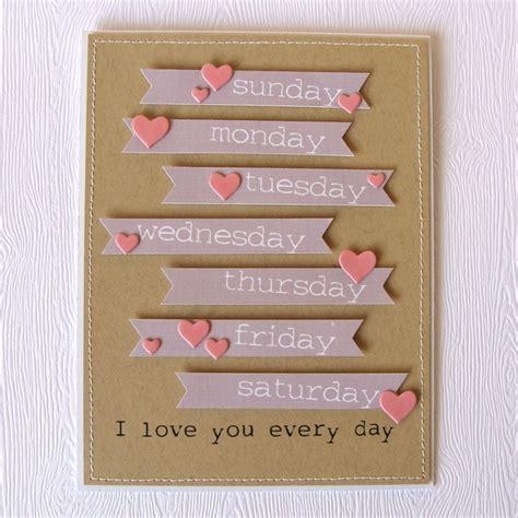S Day Cards Handmade - handmade s or themed card folksy