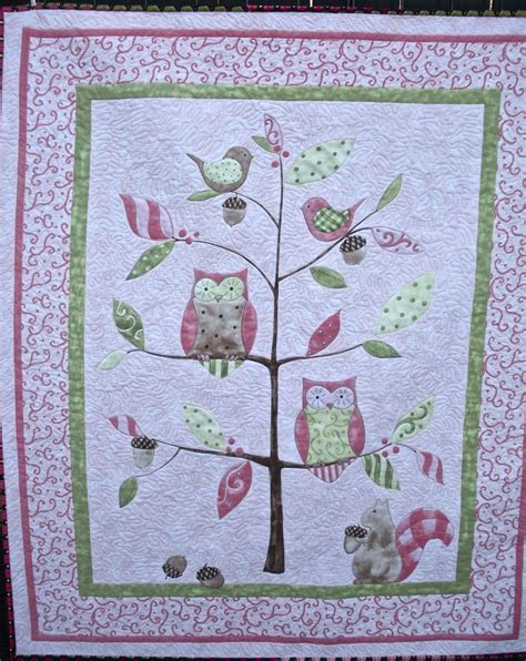 Custom Made Baby Quilts by Custom Made S Pink Owl Baby Or Child Quilt By One Bee Llc Custommade