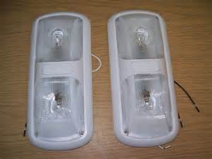 rv 12 volt light fixtures 2 new rv trailer cer 12 volt dual dome light