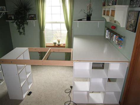 diy custom desk how to build a custom craft desk the owner builder network