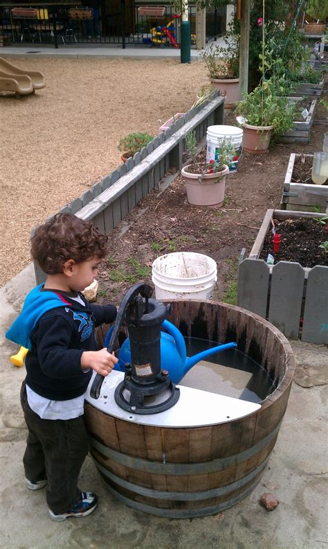 backyard water pump exploring the outdoor classroom barrel pumps in the