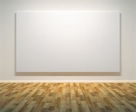 blank gallery wall canvas rob jay