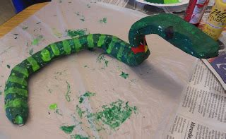 How To Make A Paper Mache Snake - create with mrs p oaxacan papier mach 233 snakes