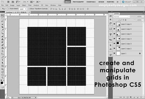 template photoshop cs5 creating and manipulating grids in photoshop cs5 187 simply