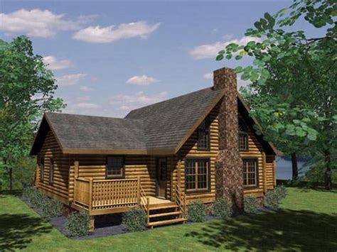navajo log home plan by honest abe log homes inc
