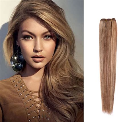 brown and blonde weave 100 brazilian remy human hair weave dark brown hair with