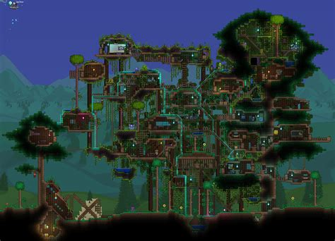 terraria tree house 1 3 0 needs more treehouse love terraria