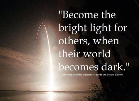 seek the light when you find it then what reaching