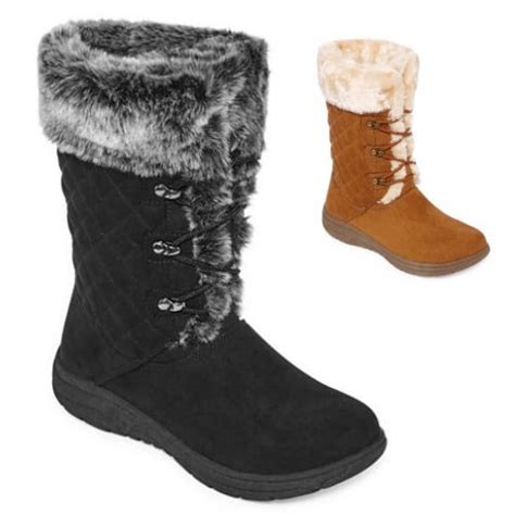 jcpenney st s bay s winter boots 38 15