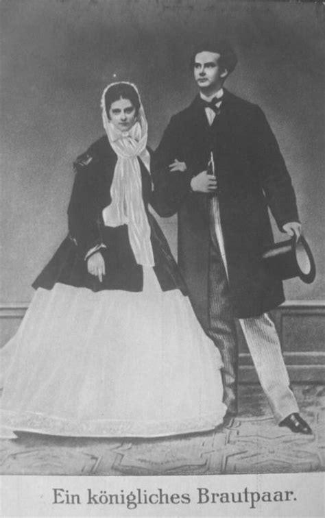 1867 König Ludwig II von Bayern und Prinzessin Sophie