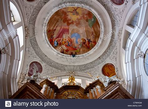 really rich decoration of baroque architecture at st baroque style ceiling design in church of st mang fussen