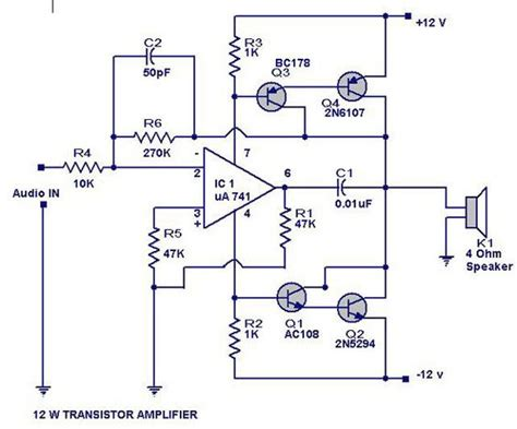 transistor guitar lifier schematic the world s catalog of ideas